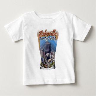 Asheville-Bier-Stadt USA Baby T-shirt