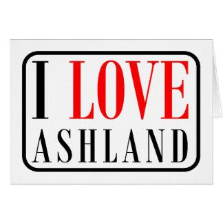 Ashland, Alabama-Stadt-Entwurf Karte