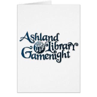 Ashland Bibliothek Gamenight Material Karte