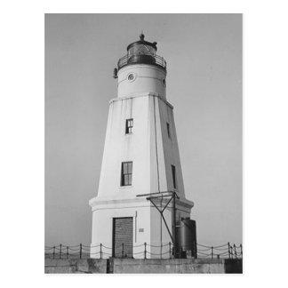 Ashland Hafen-Wellenbrecher-Leuchtturm Postkarte