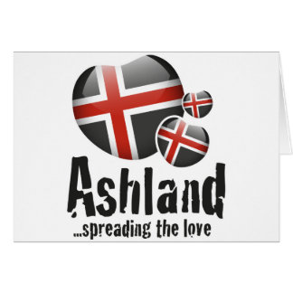 Ashland Liebe Karte