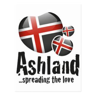 Ashland Liebe Postkarte