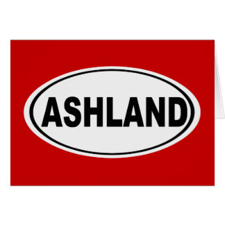 Ashland Oregon oder Ohio Karte