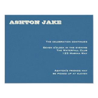Ashton Bar Mitzvah UAWG 10,8 X 14 Cm Einladungskarte