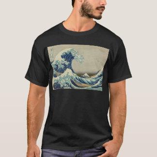 Asiatische Kunst - die große Welle weg von T-Shirt