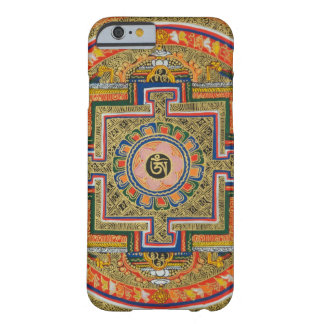Asiatische Kunst-Mandala-bunter Barely There iPhone 6 Hülle
