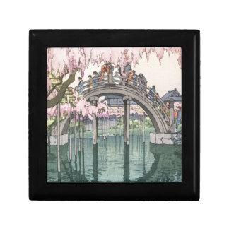 Asiatische Kunst-Vintages orientalisches Erinnerungskiste
