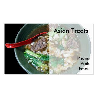 Asiatische Suppe mit Tofu scharf und süß-sauer -