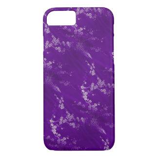 Asiatische lila Seide iPhone 8/7 Hülle