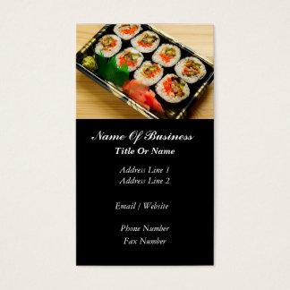 Asiatische Restaurantgewerbe-Karte Visitenkarte