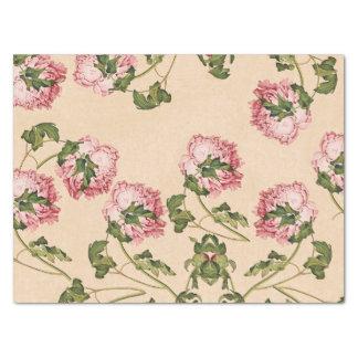 Asiatische rosa seidenpapier