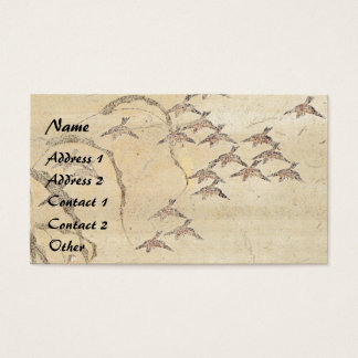 Asiatische Spatzen-Vogel-Tier-Visitenkarte Visitenkarte