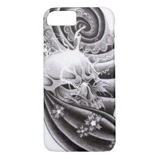 Asiatische traditionelle Tätowierung - Iphone 8/7 iPhone 8/7 Hülle