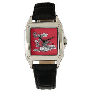 Asiatischer Drache Uhr