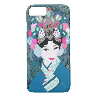 Asiatischer Schönheits-Telefon-Kasten iPhone 8/7 Hülle