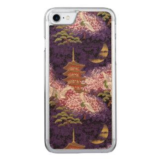 Asiatischer Tempel Carved iPhone 8/7 Hülle