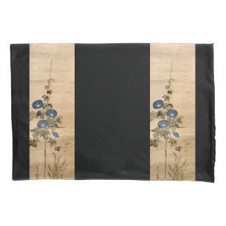 Asiatischer Winden-Blumen-Rolle-Kunst-Kissenbezug Kissen Bezug