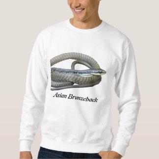 Asiatisches Bronzeback grundlegendes Sweatshirt