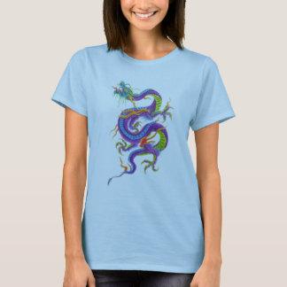 asiatisches Drachetätowierungs-Shirt T-Shirt