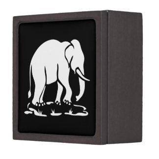 Asiatisches Elefant-voran thailändisches Kiste