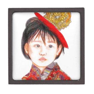 Asiatisches Ostkind Schachtel