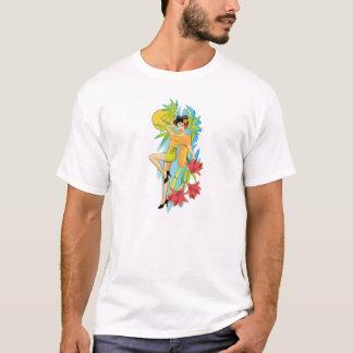 Asiatisches Pinup-Mädchen T-Shirt