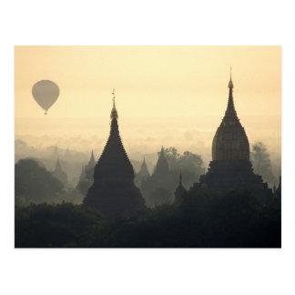 Asien, Birma, (Myanmar), heidnische (Bagan) Postkarte