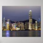 Asien, China, Hong Kong, Stadt Skyline und 2 Poster