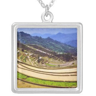 Asien, China, Yunnan-Provinz, Yuanyang Grafschaft Versilberte Kette