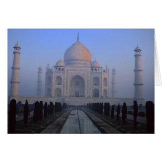 Asien; Indien; Agra. Taj Mahal. Karte