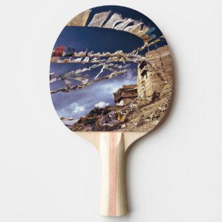 Asien, Indien, Ladakh, Leh. Bekannt als wenig Tischtennis Schläger