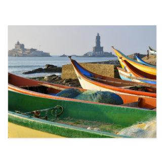 Asien, Indien, Tamil Nadu, Kanniyakumari 2 Postkarte