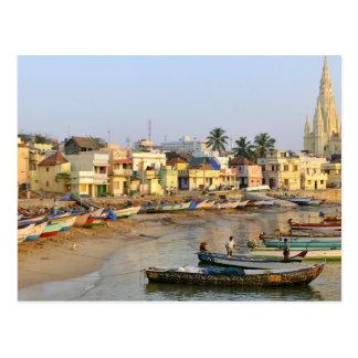 Asien, Indien, Tamil Nadu, Kanniyakumari Postkarte