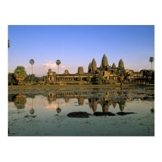 Asien, Kambodscha, Siem Reap. Angkor Wat. 2 Postkarte