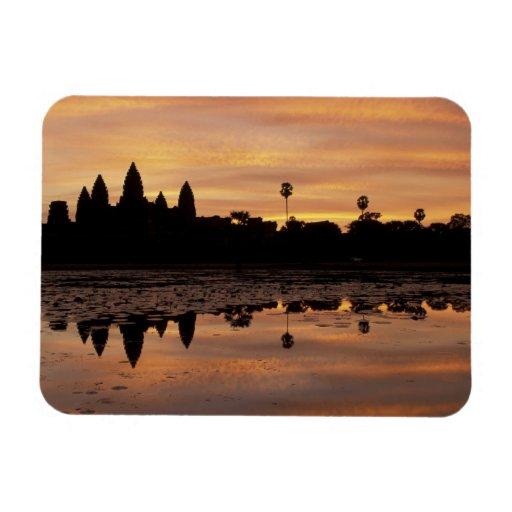 Asien, Kambodscha, Siem Reap, Angkor Wat (B. 12. Flexibler Magnet