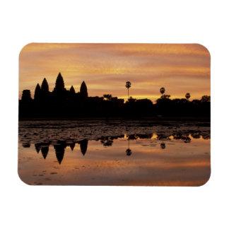 Asien, Kambodscha, Siem Reap, Angkor Wat (B. 12. Vinyl Magnet