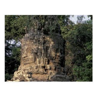 Asien, Kambodscha, Siem Reap. Enorme Postkarte
