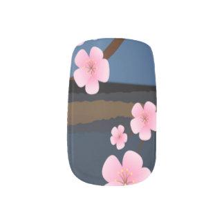 Asien-Kirschblüte Minx Nagelkunst