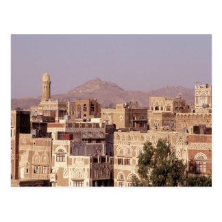 Asien, Mittlere Osten, Republik vom Jemen, Sana'a. Postkarte