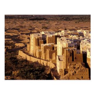 Asien, Mittlere Osten, Republik vom Jemen, Shibam Postkarte
