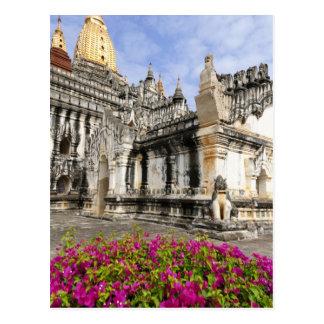 Asien, Myanmar (Birma), Bagan (Heide). Das Ananda Postkarte