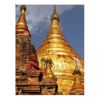 Asien, Myanmar (Birma), Bagan (Heide). Das Dhamma Postkarte