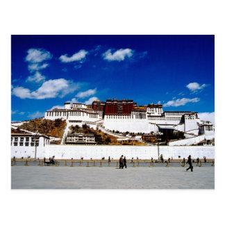Asien, Tibet, Lhasa, Potala-Palast. UNECSO Postkarte