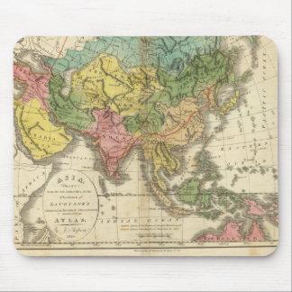 Asien und Reich von Genghis Kahn Mousepad