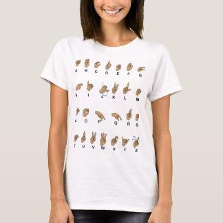 Asl-Alphabet T-Shirt
