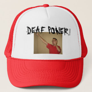 ASL-FREUNDE, TAUBER POWER! TRUCKERKAPPE