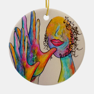 Asl-Großmutter Keramik Ornament