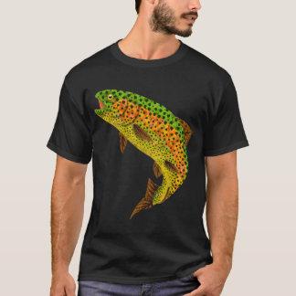 Aspen-Blatt-Regenbogenforelle 1 T-Shirt