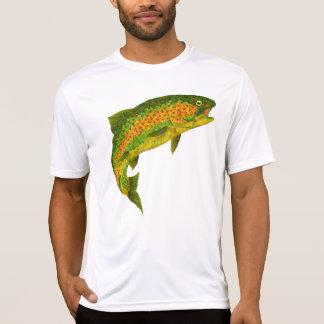 Aspen-Blatt-Regenbogenforelle 4 T-Shirt