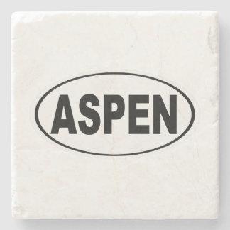 Aspen Colorado Steinuntersetzer